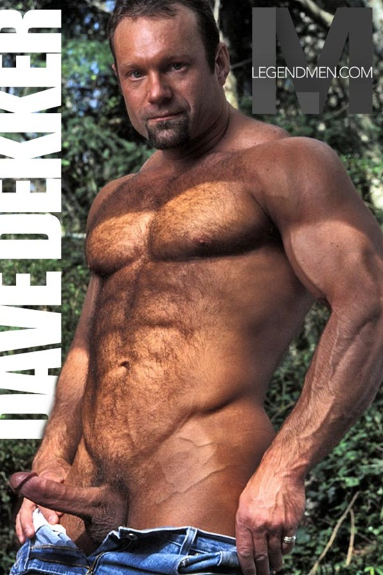 Legend Men Hot naked muscle hunks Dave Dekker Ripped Muscle Bodybuilder Strips Naked and Strokes His Big Hard Cock photo Top 100 worlds sexiest naked muscle men at Legend Men (31 40)