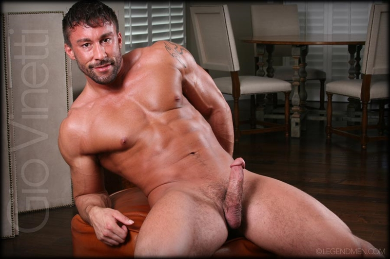Naked Muscle Stud Flesh N Boners