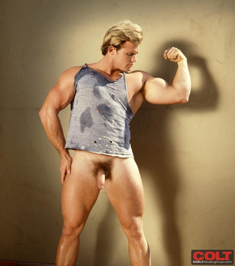 Nude Blonde Male