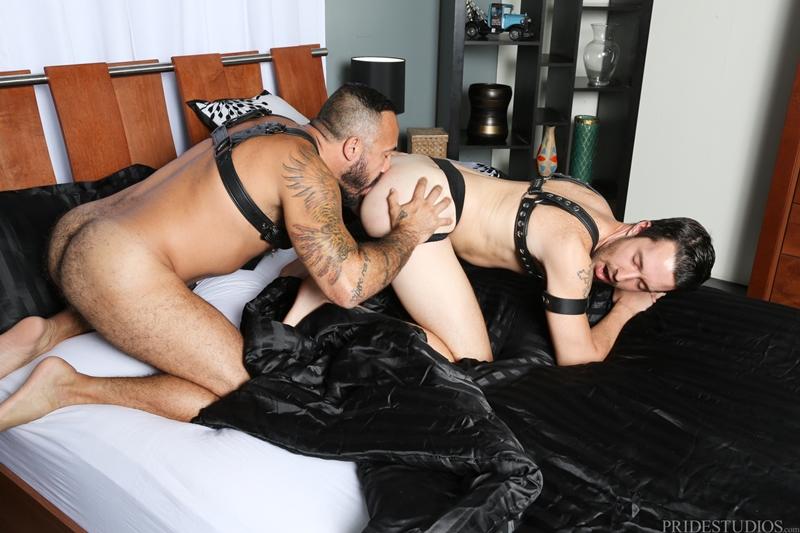 NextDoorEbony-Isaac-Hardy-Alessio-Romero-leather-gear-straps-dominate-fucks-deep-jerking-sucking-cock-tight-ass-cum-001-tube-video-gay-porn-gallery-sexpics-photo