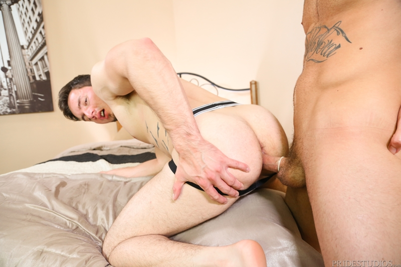 Pornstar Jock Blows Load