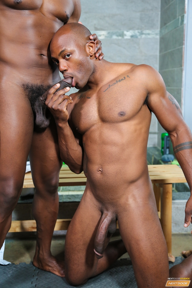 Black gay men big dicks