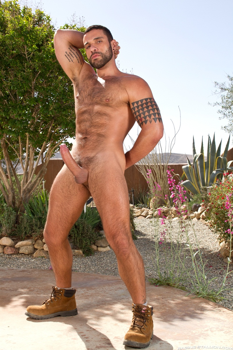 Free gay cowboy big dick porn two daddies are nicer than one