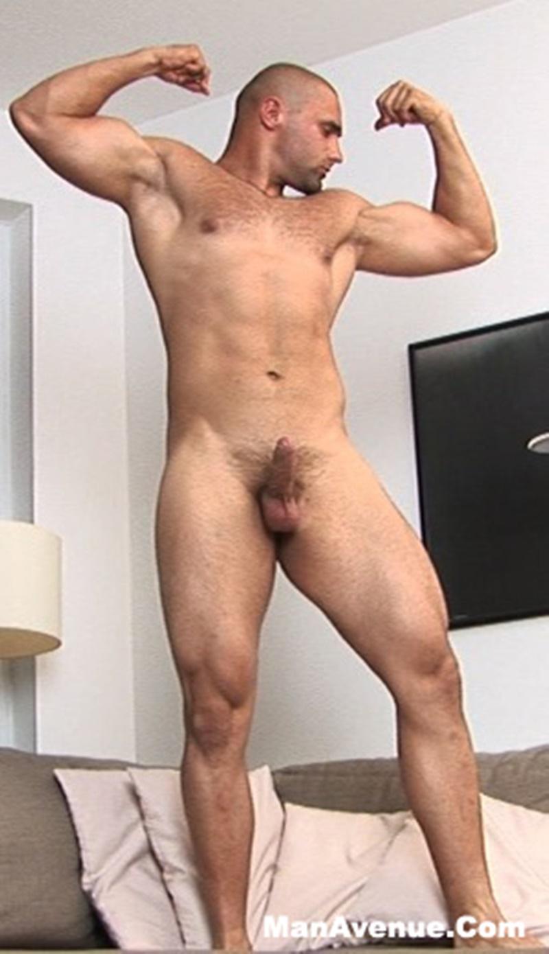 muscular cumshot