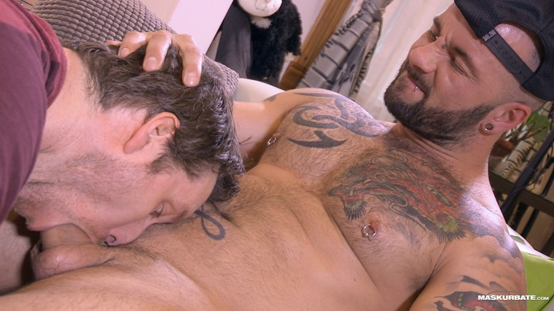 Maskurbate-tattooed-big-muscle-hunk-Manuel-Deboxer-underwear-huge-thick-cock-bulge-pierced-nipple-cocksucker-cum-in-mouth-facial-11-gay-porn-star-sex-video-gallery-photo