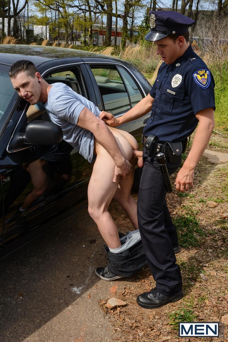 Новое гей порн с полицейским