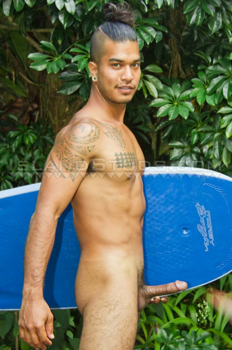 Men for Men Blog Island-Studs-Kamani-23-year-old-surfer-boy-jerks-huge-muscle-cock-massive-load-hot-cum-IslandStuds-007-gay-porn-pictures-gallery 23 year old surfer boy Island Studs Kamani jerks his huge muscle cock to a massive load of hot cum Island Studs