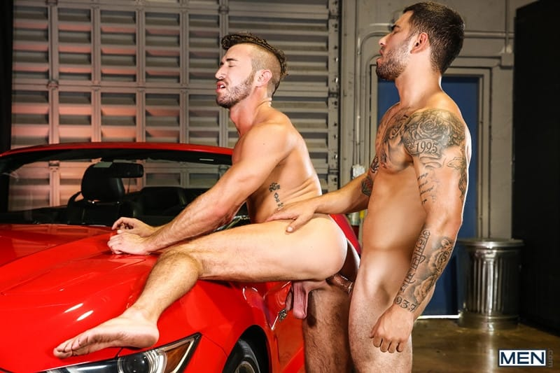 Men for Men Blog Vadim-Black-Grant-Ryan-strip-nude-sexy-dudes-sucking-huge-cocks-off-Men-011-gay-porn-pictures-gallery Vadim Black and Grant Ryan strip out of their leather driving gear sucking each other's huge cocks off Men