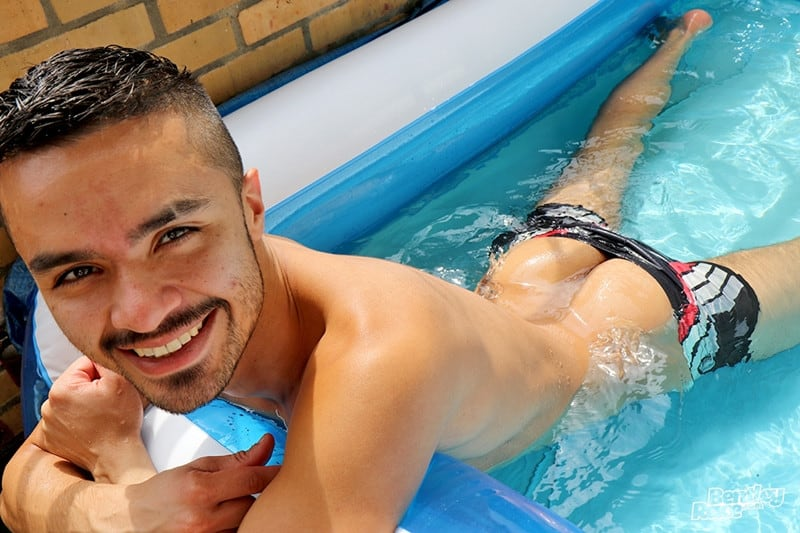 Men for Men Blog Pablo-Pen-South-American-young-stud-wanking-thick-uncut-dick-strips-nude-young-man-pool-BentleyRace-003-gay-porn-pics-gallery Beautiful South American young stud Pablo Pen strips and dives into the pool before wanking his thick uncut dick Bentley Race