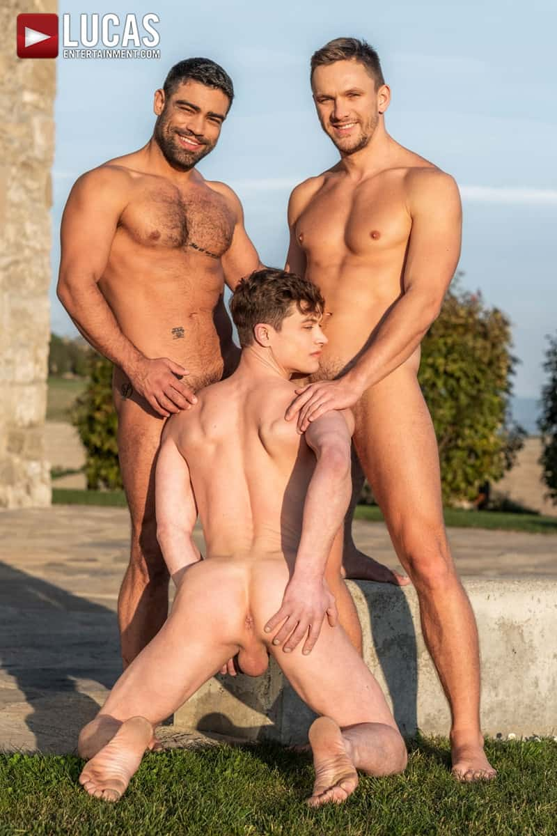 Men for Men Blog Gay-Porn-Pics-005-Andrey-Vic-Wagner-Vittoria-Ruslan-Angelo-Hot-gay-threesome-huge-dicks-double-fuck-hot-muscle-ass-LucasEntertainment Hot gay threesome Andrey Vic and Wagner Vittoria's huge dicks double-fuck Ruslan Angelo's hot muscle ass Lucas Entertainment