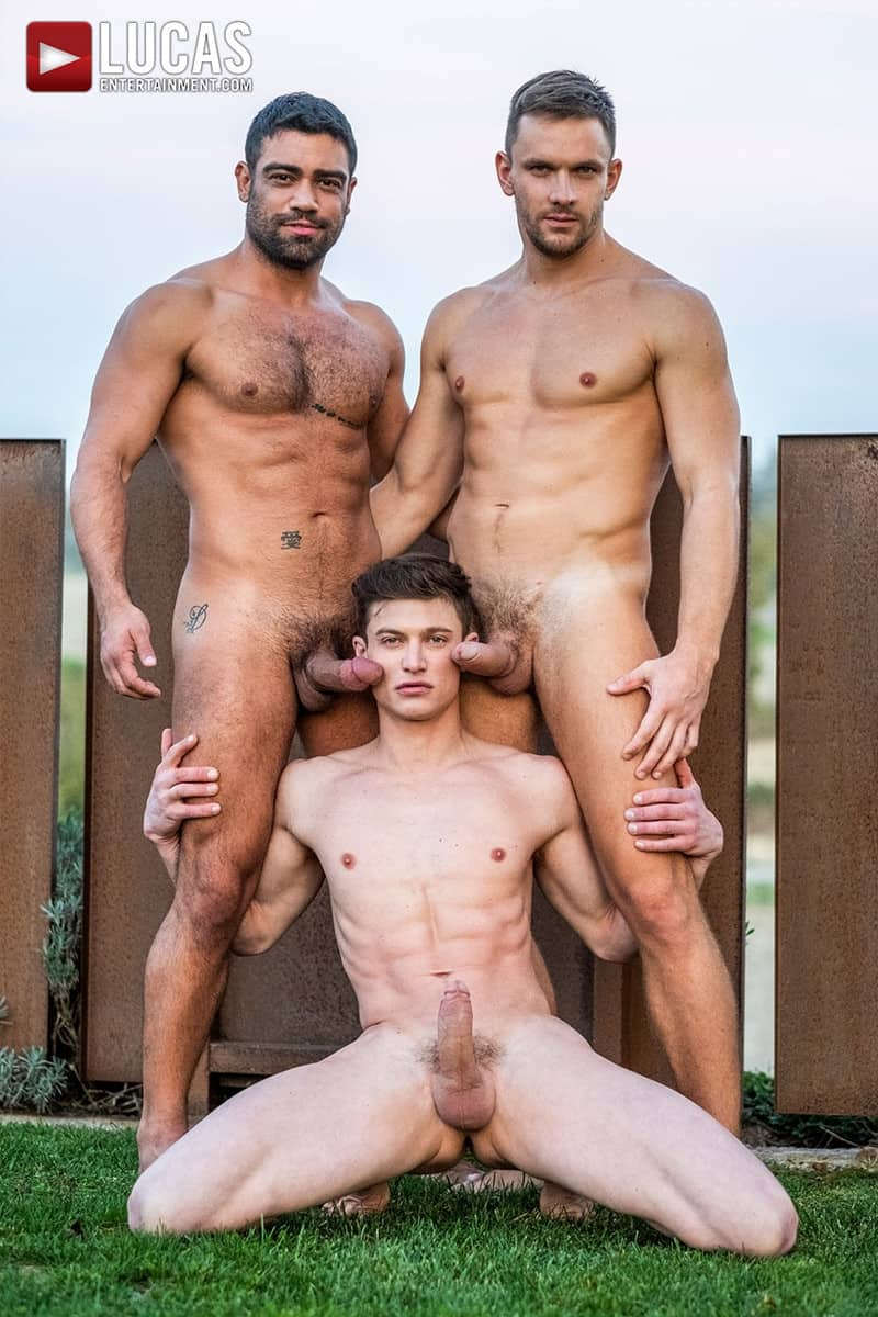 Men for Men Blog Gay-Porn-Pics-006-Andrey-Vic-Wagner-Vittoria-Ruslan-Angelo-Hot-gay-threesome-huge-dicks-double-fuck-hot-muscle-ass-LucasEntertainment Hot gay threesome Andrey Vic and Wagner Vittoria's huge dicks double-fuck Ruslan Angelo's hot muscle ass Lucas Entertainment
