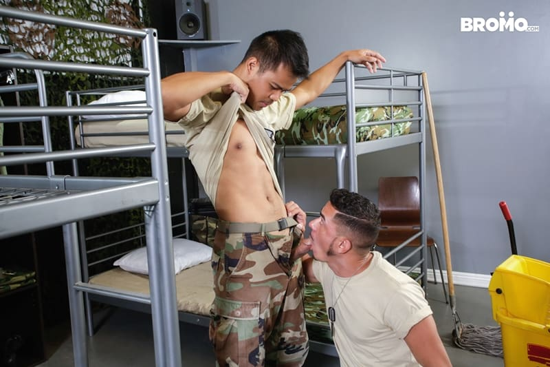 Cesar-Xes-hungry-bottom-bitch-John-Rene-huge-cock-fuck-ass-hole-army-barracks-Bromo-002-Gay-Porn-Pics